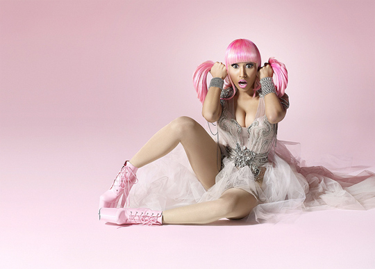 Nicki Minajs Pink Friday Promo