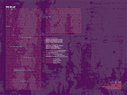 Nicki Minaj Pink Friday Roman Reloaded The Re-Up Album Booklet Scans