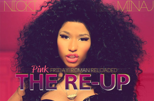 Album Cover For Nicki Minaj Pink Friday Roman Reloaded The ReUp