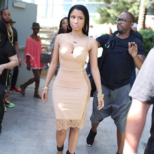 Nicki Minaj Hosts Pool Party At Liquid In Las Vegas