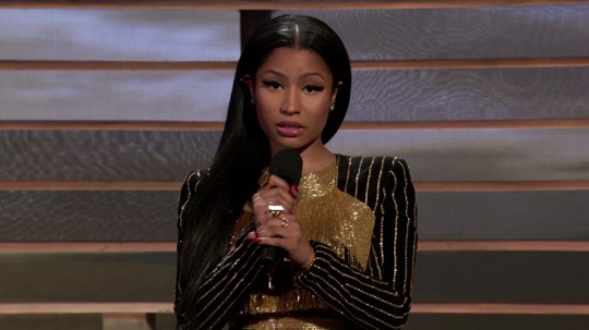 Nicki Minaj Reads Maya Angelou Still I Rise Poem During Shining A Light Concert
