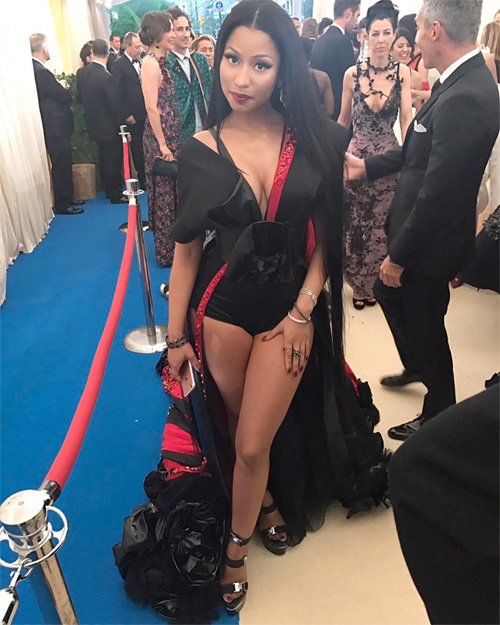 Nicki Minaj Reveals If She Prefers To Dress Sexy Or Interesting At The 2017 Met Gala
