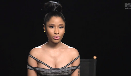 Nicki Minaj Discusses Her She Came To Give It To You Collaboration With Usher