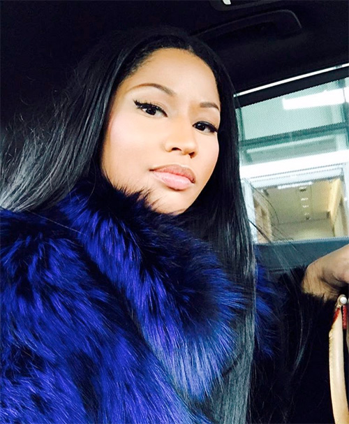 Nicki Minaj Signs Contract With Modeling Agency Company Wilhelmina Models