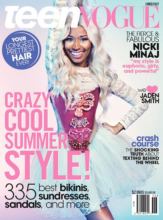 Nicki Minaj Graces Front Cover Of Teen Vogue Magazine, Excerpts & Photo Shoot