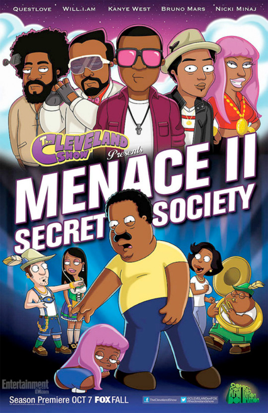 Nicki Minaj Will Star In The Cleveland Show Menace II Secret Society Episode