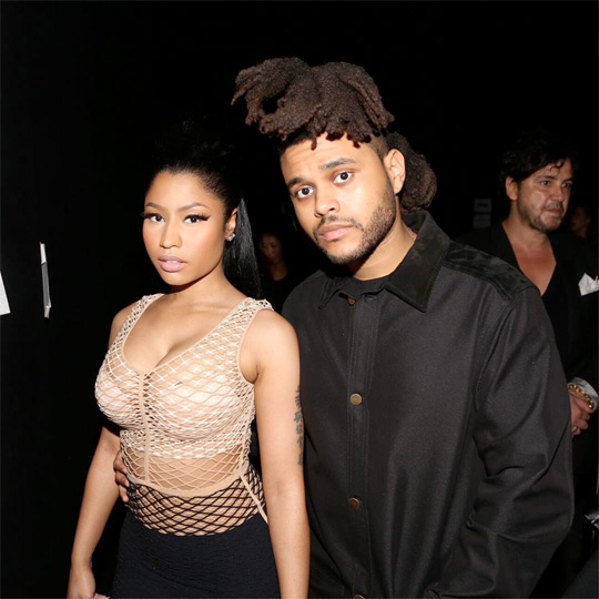 Nicki Minaj Teases Upcoming Music With The Weeknd