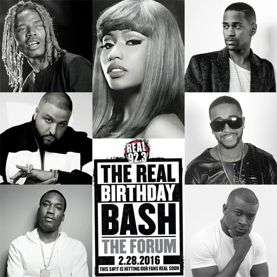 Nicki Minaj To Headline The REAL Birthday Bash In California