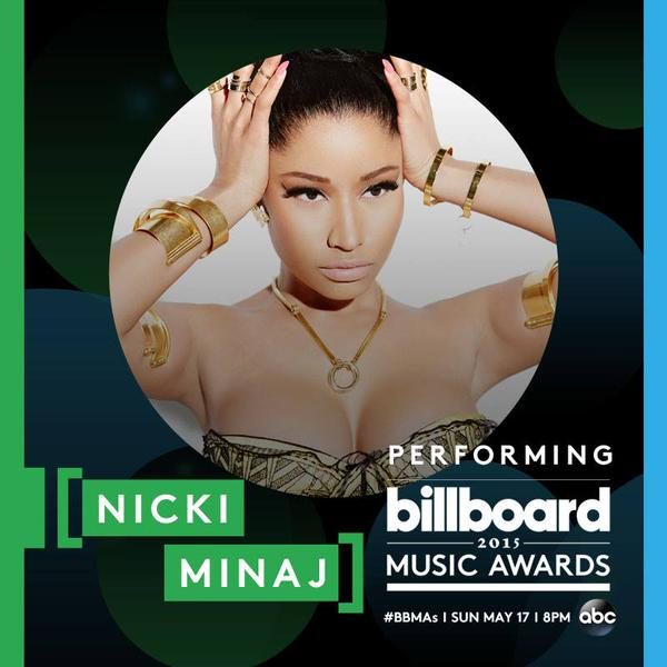 Nicki Minaj To Perform Live At The 2015 Billboard Music Awards