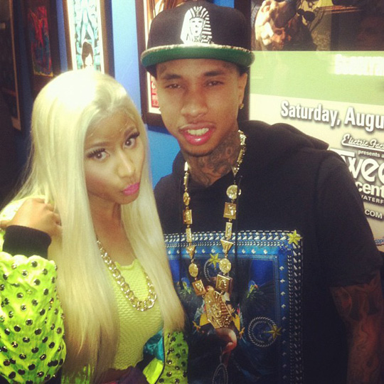 Nicki Minaj & Tyga Perform At 2012 Wired Fest