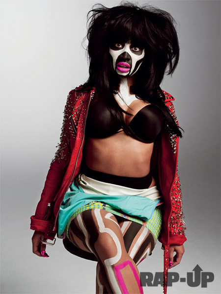 Nicki Minaj Photo Shoot With V Magazine. Nicki Minaj made the front cover of
