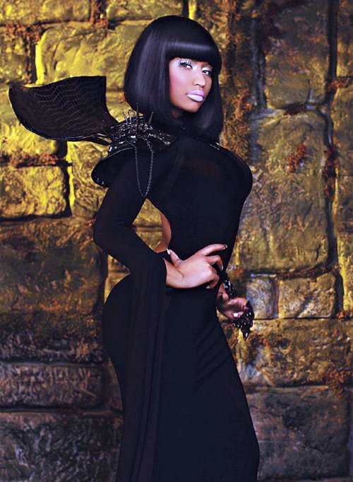 Nicki Minaj Photo Shoot Scans With VIBE Magazine