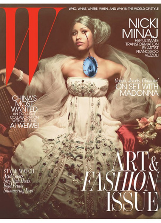 Nicki Minaj Covers W Magazine November Issue