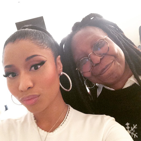 Nicki Minaj Discusses Fashion, The Pinkprint, European Tour, Anaconda & More On The View