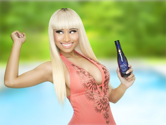 Nicki Minaj Launches Wine Beverage With Myx Fusions