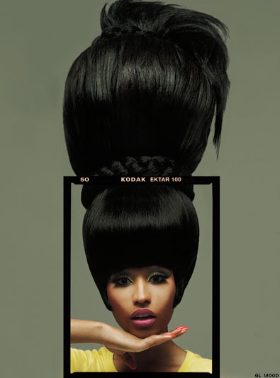 Nicki Minaj OUT Magazine Photo Shoot