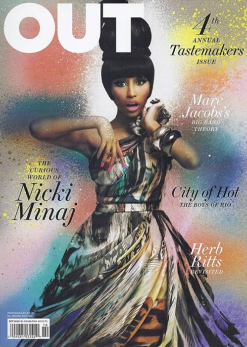 Nicki Minaj Covers OUT Magazine