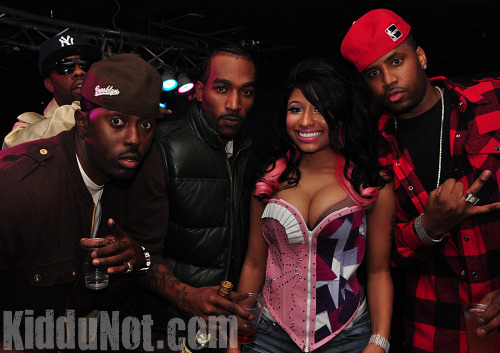 Pictures Of Nicki Minaj Celebrating Her Birthday At Club Miami & Studio 72