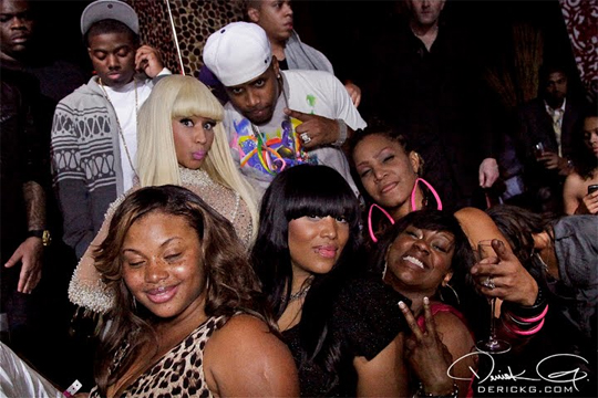 Pictures Of Nicki Minaj Celebrating Her 26th Birthday In Las Vegas