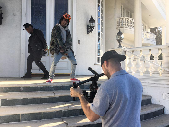 On Set Of Lil Twist & Fooly Faime I Feel It Video Shoot In Los Angeles