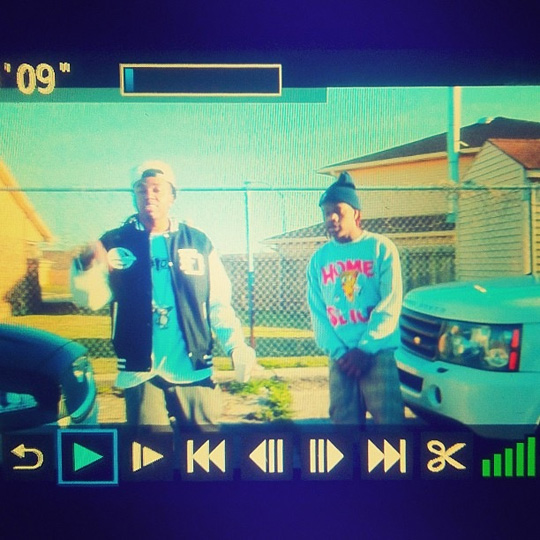 On Set Of Lil Cali & Lil Chuckee Money Right Video Shoot