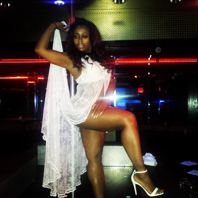 On Set Of Shanell I Can Be Your Stripper Video Shoot At Dreams Gentlemens Club