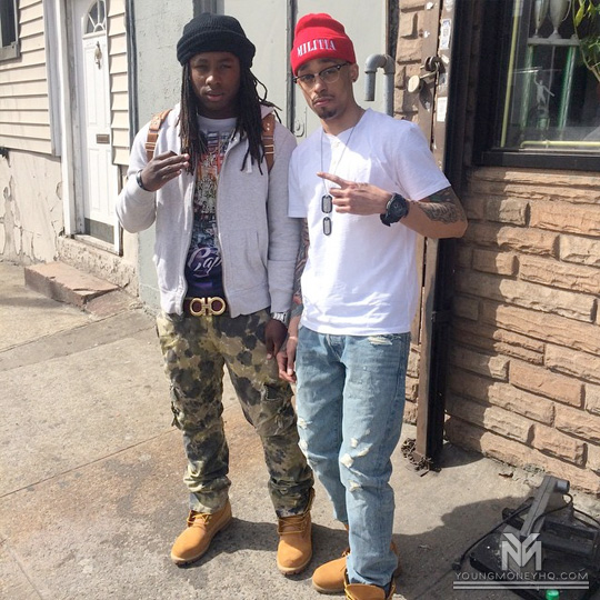 On Set Of Tay600 & Cory Gunz 30 Shotz Video Shoot
