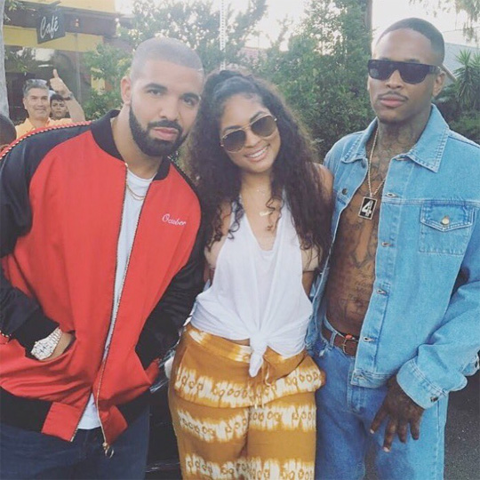 On Set Of YG, Drake & Kamaiyah Why You Always Hatin Video Shoot In Los Angeles