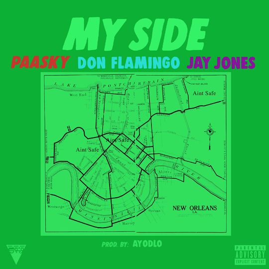 Paasky My Side Feat Jay Jones & Don Flamingo