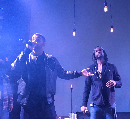 PARTYNEXTDOOR Brings Out Drake To Perform Recognize At SOBs In New York