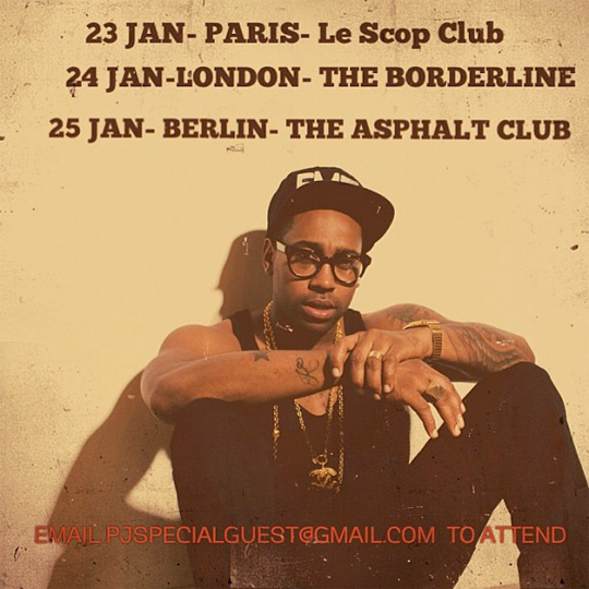PJ Morton Announces A 3 Date European Tour