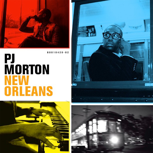 Artwork For PJ Morton New Orleans Album
