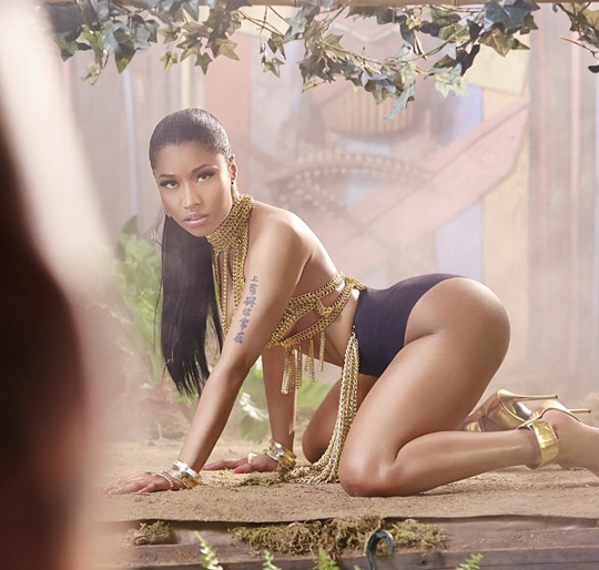 Watch A Preview Of Nicki Minaj Anaconda Music Video