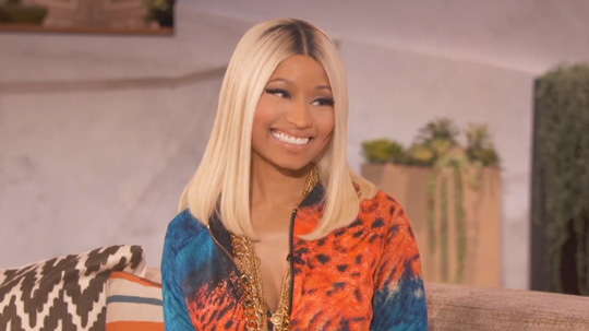 Preview Of Nicki Minaj On The Queen Latifah Show