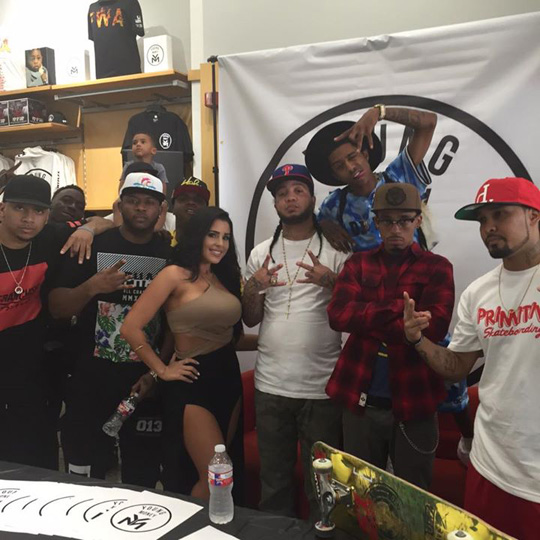 Recap From Young Money Pop Up Store At Nouveau In New Orleans