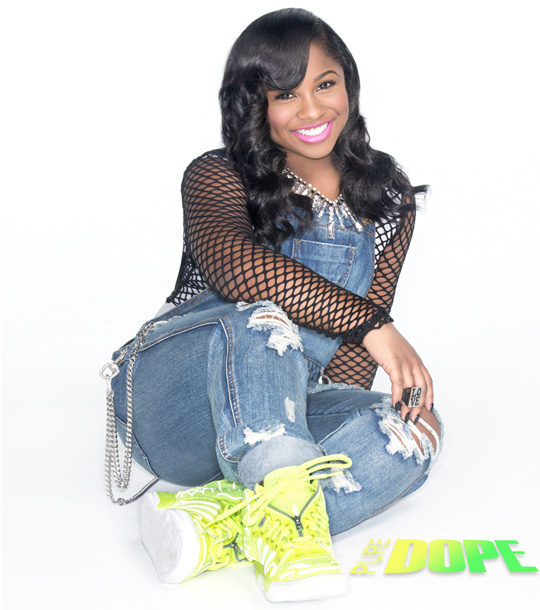Reginae Carter Speaks On Traits She Gets From Her Parents, HAIRFINITY & More