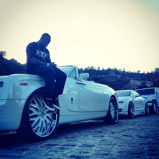 On Set Of Rich Gang Dreams Come True Video Shoot In Los Angeles