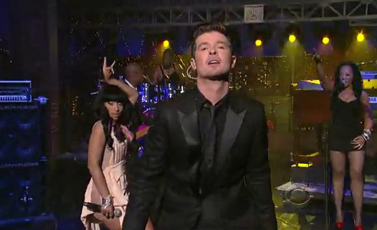 Robin Thicke Announces New Single Back Together Featuring Nicki Minaj & Release Date