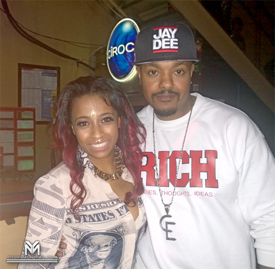 Shanell Backstage & Performing Live On The 8th Annual Get Money Stop Hatin Tour In Austin