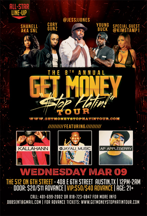 Shanell & Cory Gunz Performing Live At The 512 Bar On 6th In Austin Texas March 9th