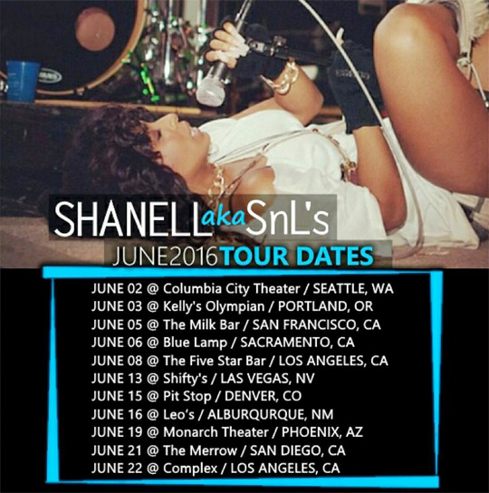 Shanell Announces Dates & Locations For Her USA Tour In June