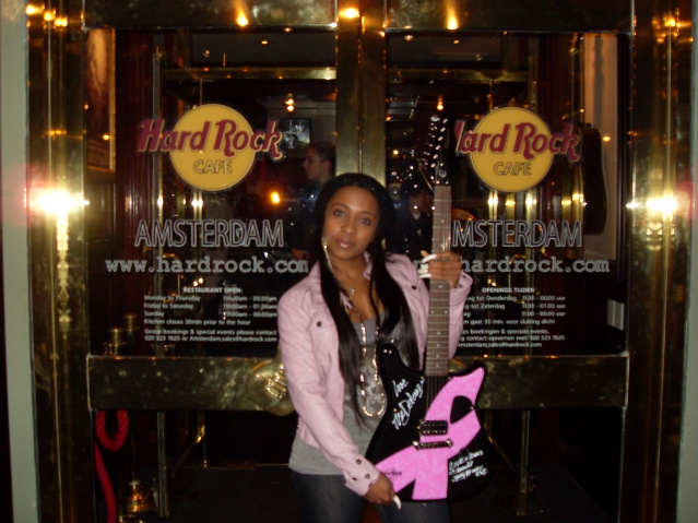 Pictures Of Shanell At The Pinktober Guitar Signing In Amsterdam