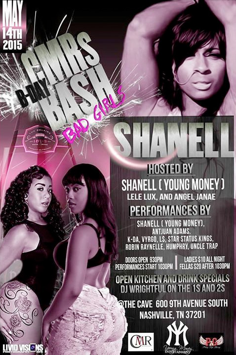 Shanell To Host & Perform Live At The Cave In Nashville Tonight