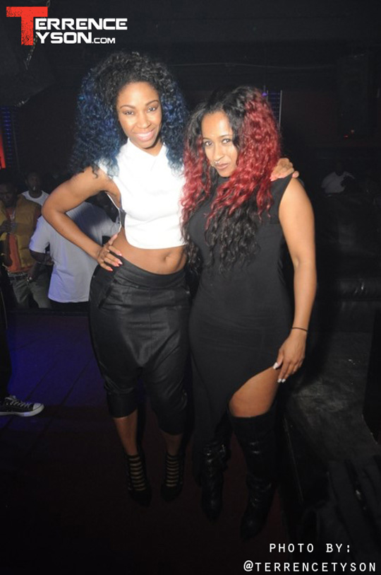 Shanell Attends Lil Wayne Party At Aqua Nightclub & Lounge In Jacksonville