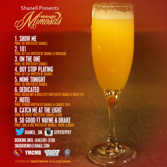 Shanell Midnight Mimosas Mixtape