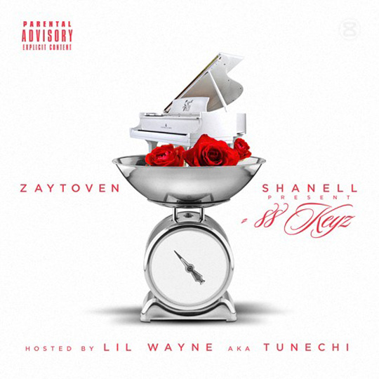 Shanell Reveals Official Artwork & Tracklist For 88 Keyz Joint Mixtape With Zaytoven