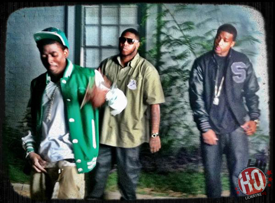 Pictures On Set Of Short Dawgs H-Town Video Shoot