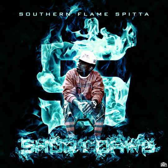Short Dawg Southern Flame Spitta Volume 5 Mixtape Front Cover