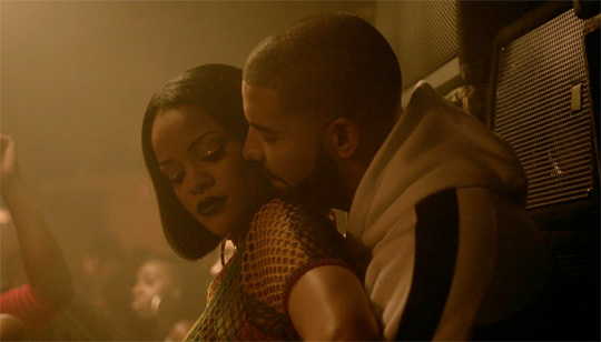 Watch A Sneak Peek Of Rihanna & Drake Work Music Video