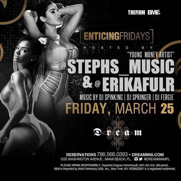 Stephanie Acevedo To Host Enticing Fridays At Dream Nightclub In Miami